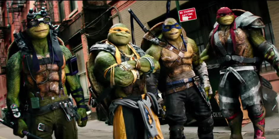 Las inseparables Tortugas Ninja. (Foto: YouTube/Paramount Pictures)