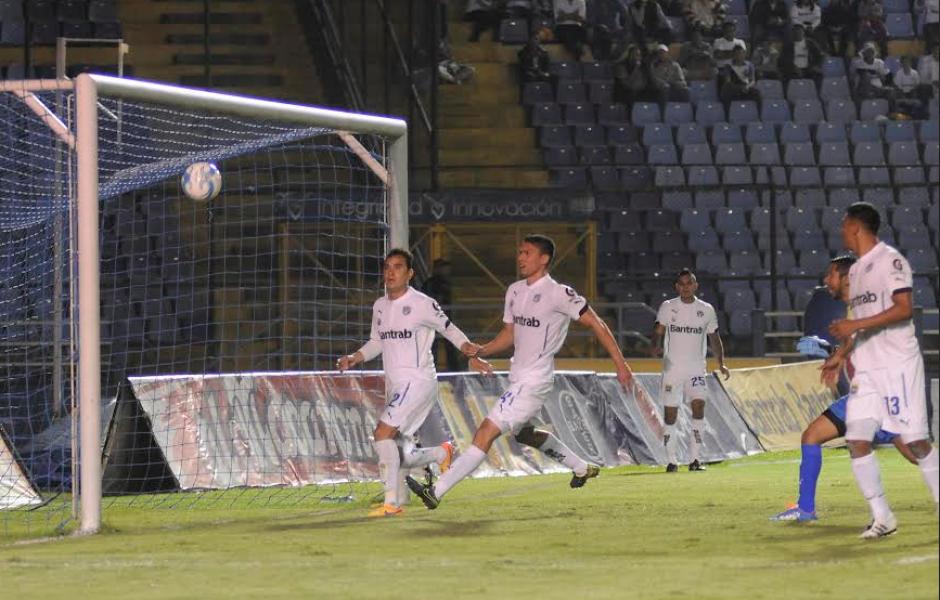 Un gol de Alejandro Díaz, para Antigua. (Foto: Nuestro Diario)