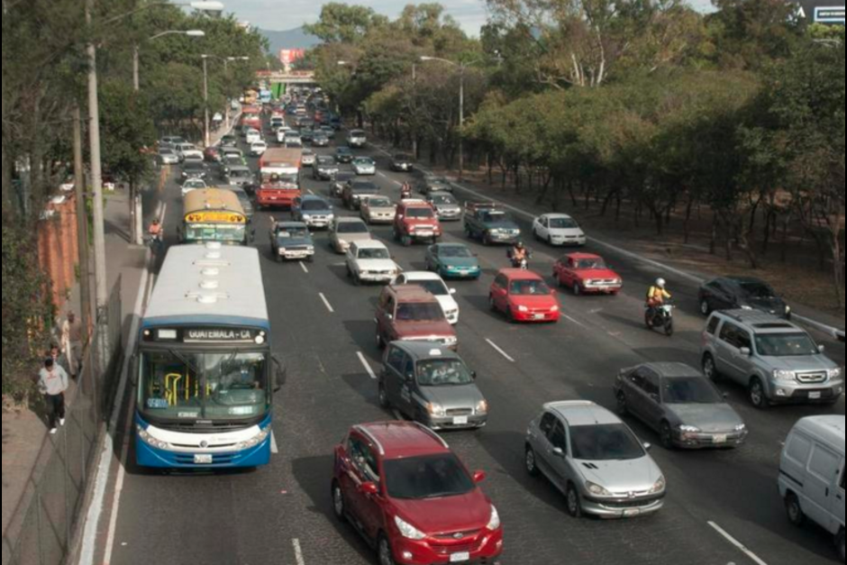 En total son 10 puntos los que complicarán el tráfico. (Foto: Archivo/Soy502)