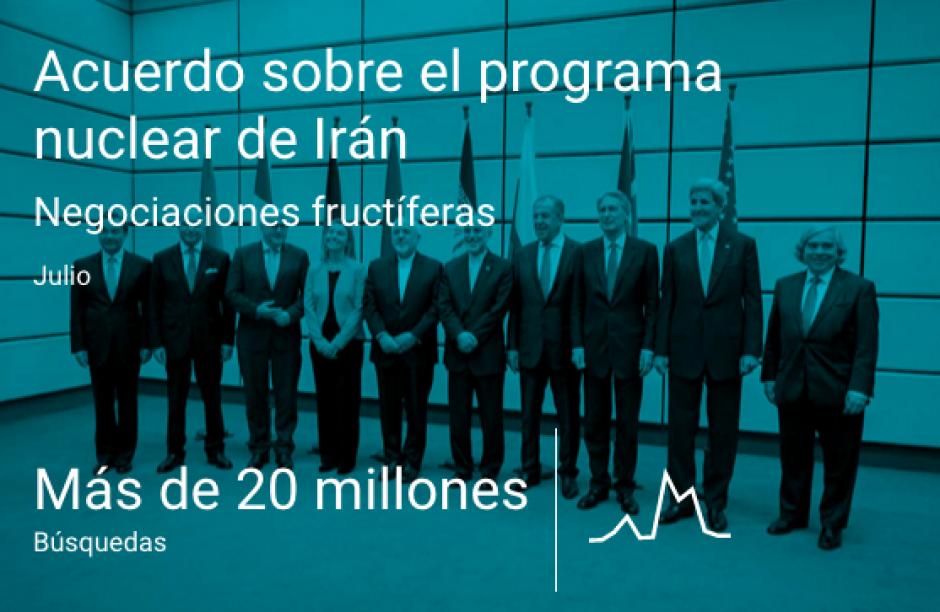 El acuerdo sobre el programa nuclear de Irán. (Imagen: Google)