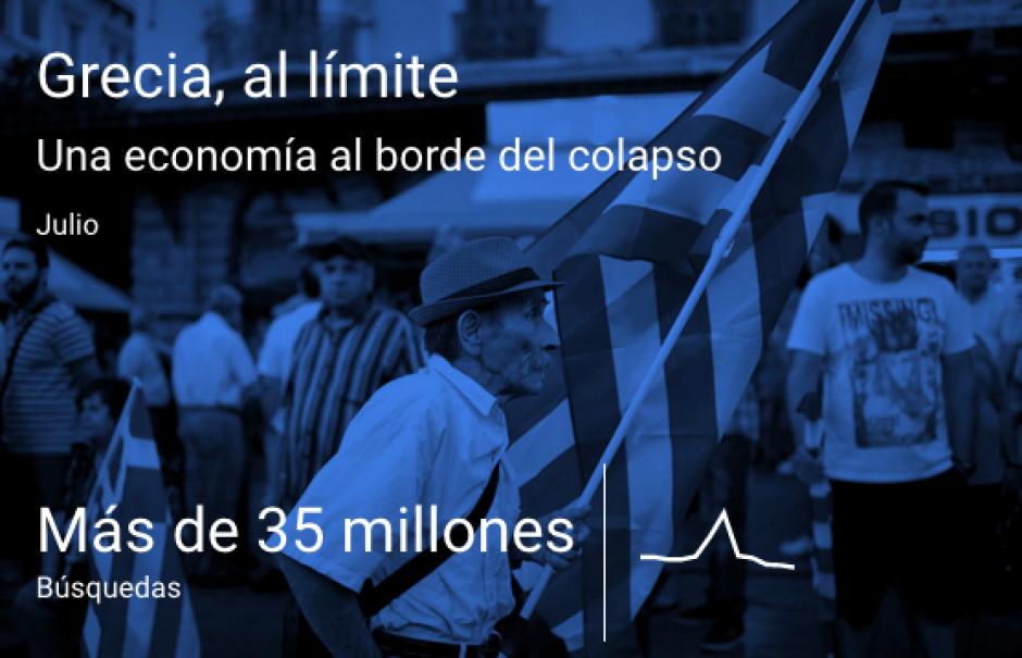 La economía al borde del colapso en Grecia. (Imagen: Google)