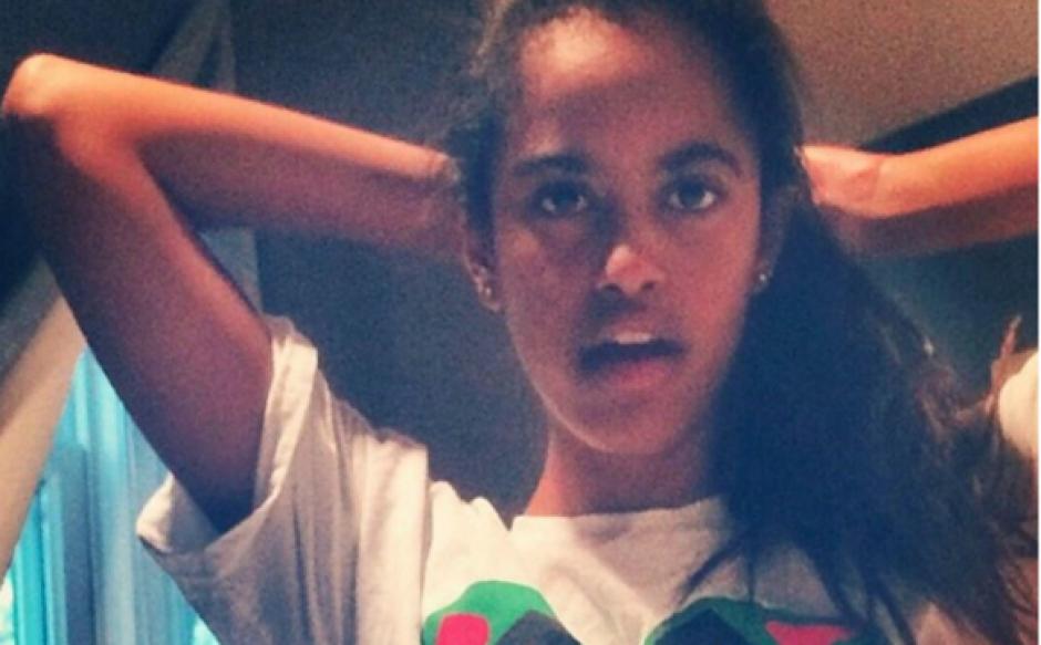 La foto de la hija de Obama figura en el listado de Google. (Foto: Google)