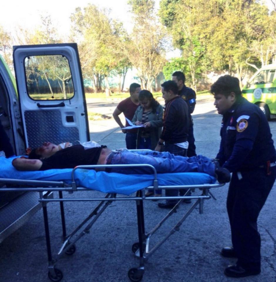 Los lesionados son tres hombres. (Foto: Twitter/ Bomberos Municipales)