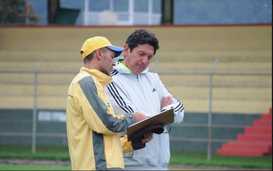 Paco Melgar y Nestor Soria Marquense foto