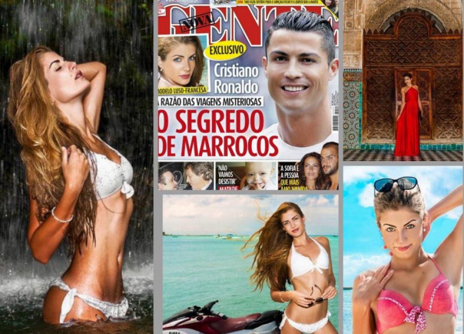 Melanie Martins, el motivo por el cual Cristiano Ronaldo visita Marruecos frecuentemente.