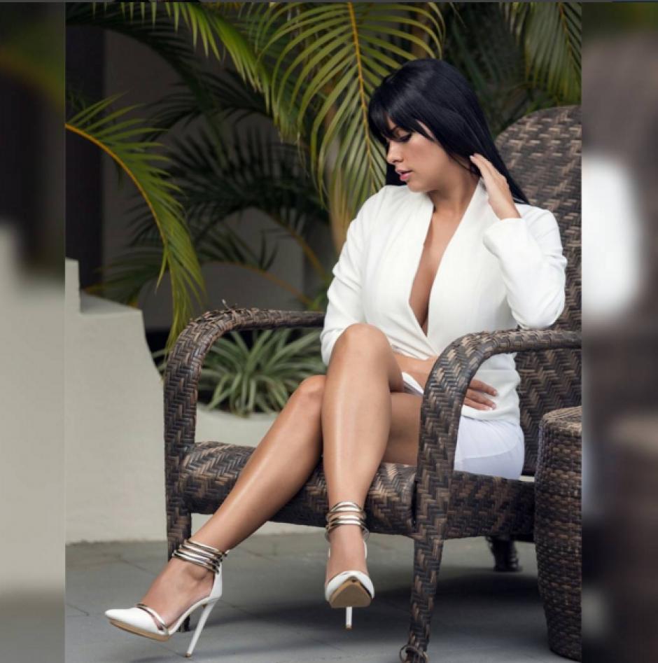 Adriana Corella es una cotizada modelo de Costa Rica que ahora está acusada de narcotráfico en Nicaragua. (Foto: Adriana Corella)