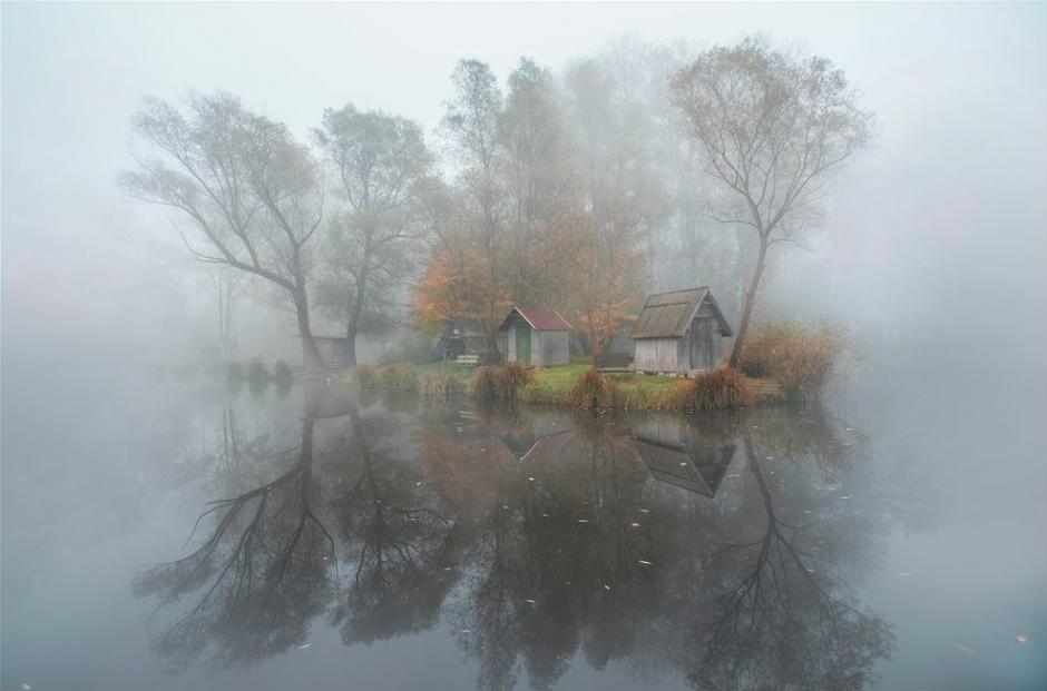 El pueblo, es una imagen que es acompañada con un mensaje de parte del fotógrafo en el que la describe como una parte de su vida. (Foto Gabor Dvornik/National Geographic)