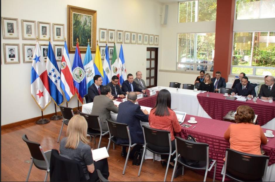 Guatemala reiteró su compromiso con lapoblación migrante durante la reunión. (Foto: Cancillería Guatemala)