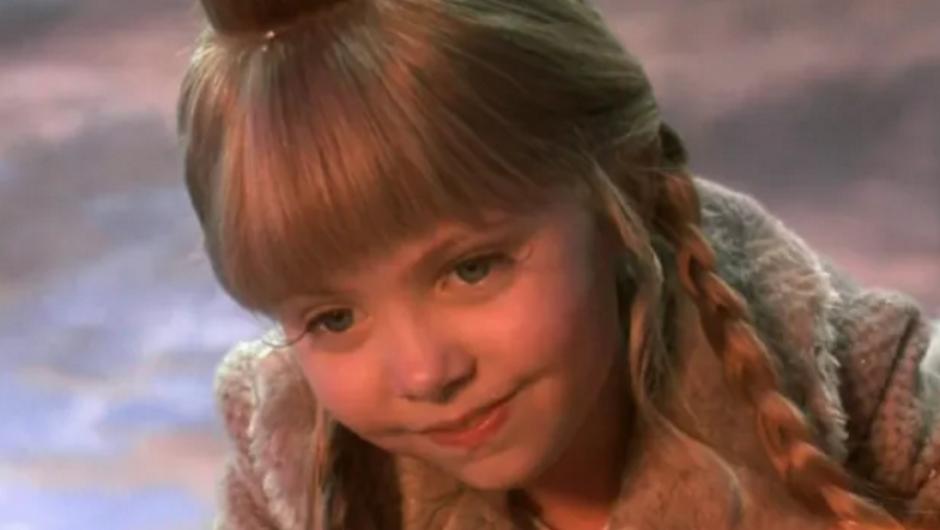 Momsen interpretó a la pequeña Cindy Lou en la versión del 2000 de El Grinch