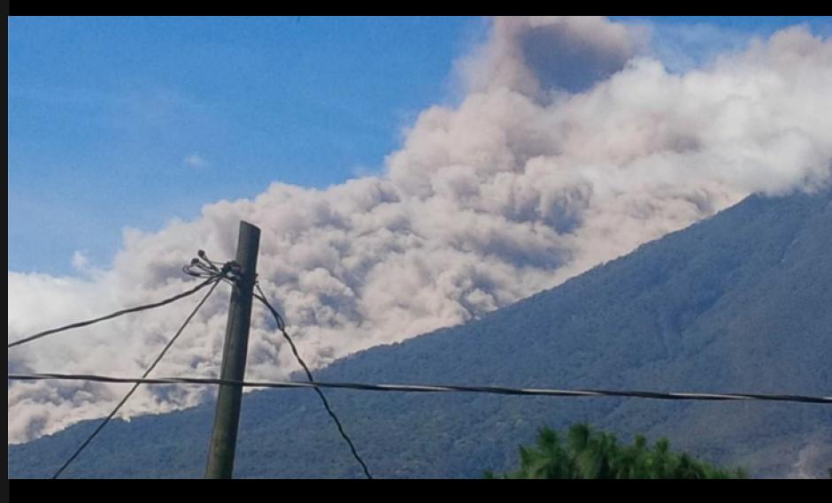 El volcán de Fuego es una de las 33 formaciones volcánicas de Guatemala. (Foto: Conred)