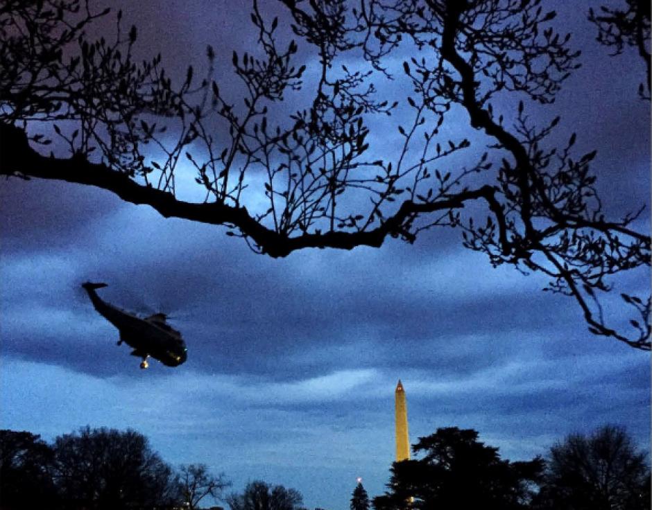 Los jardines de la Casa Blanca han sido escenario de varias postales del fotógrafo oficial. (Foto: @PeteSouza)