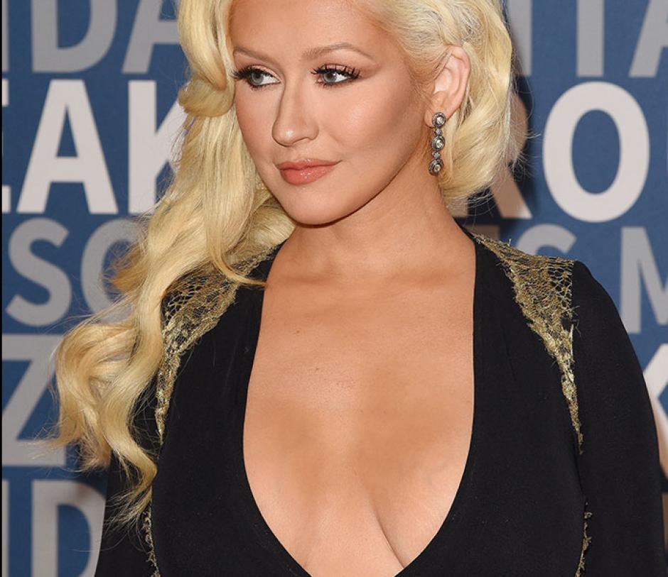 Christina Aguilera, la artista en la ceremonia Breakthrough Prize Award, en Mountain View, California. (Foto: People)