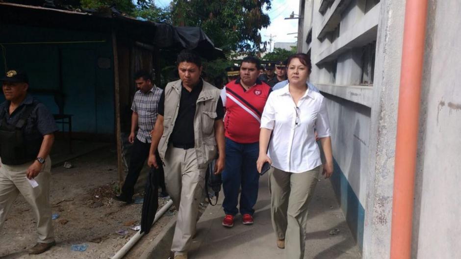 La ministra de gobernación, Eunice Mendizábal confirmó que hay 8 personas fallecidas y 20 heridos. (Foto: mingob)