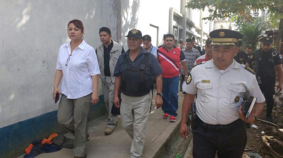 Las autoridades de Gobernación llegaron a la cárcel para retomar el control. (Foto: Mingob)