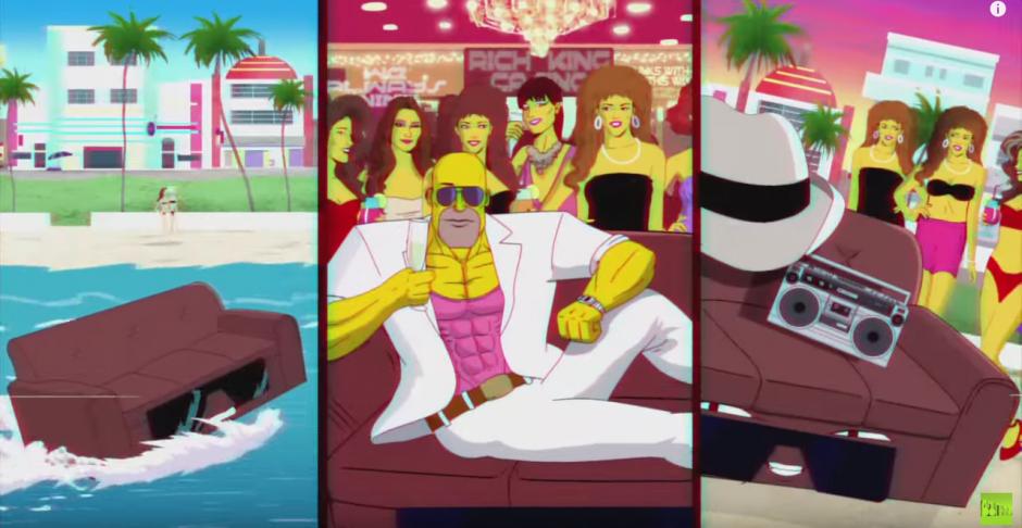 Los Simpsons rinden homenaje a series y películas de los años 80. (Foto: YouTube)