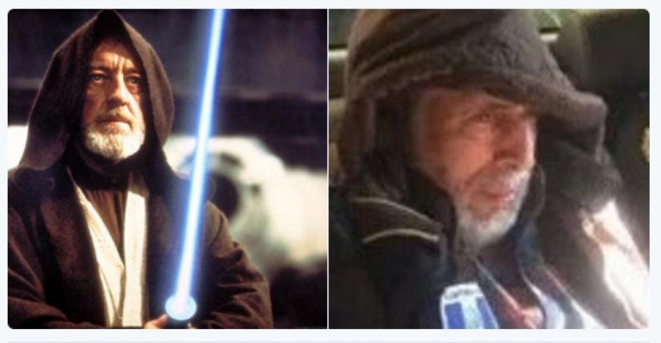 La cinta de Star Wars también dio material para la captura de Brayan Jiménez. (Foto: Twitter)