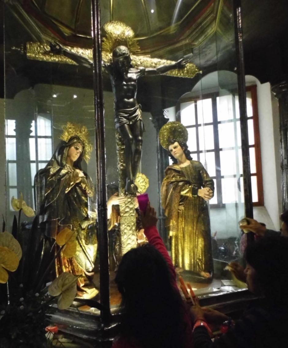 El Cristo Negro de Esquipulas. (Foto: Nuestro Diario)