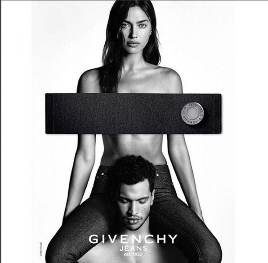 Los modelos han cautivado en las redes sociales con sus imágenes en blanco y negro.(Foto: Instagram Irina Shayk)