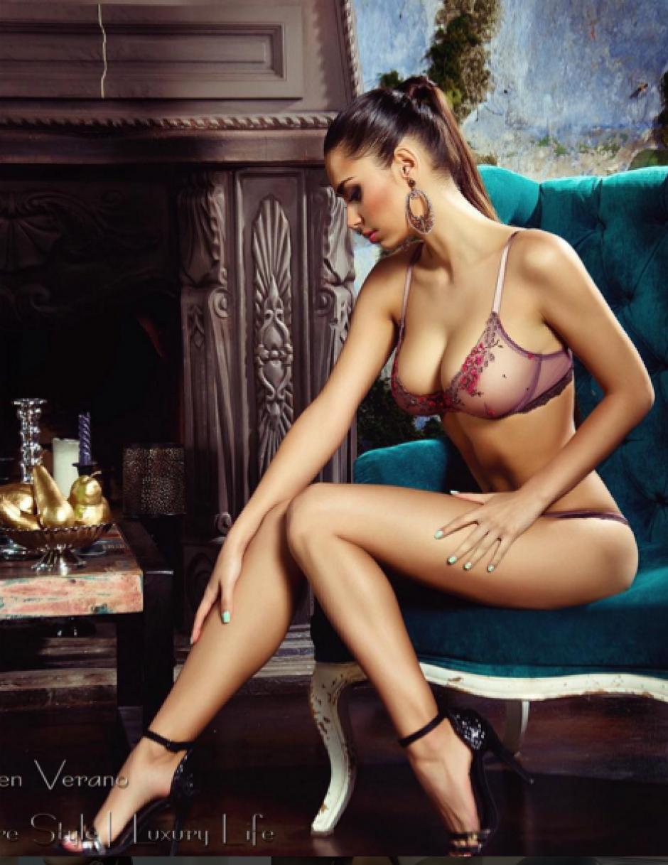 Helga Lovekaty modelo James Rodríguez foto 07