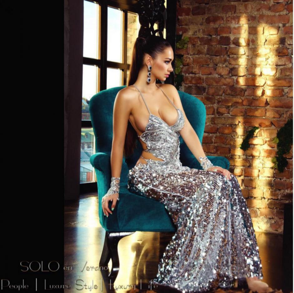 """Helga Lovekaty, la modelo que sería la """"perdición"""" de James Rodríguez. (Foto: Helga Lovekaty)"""