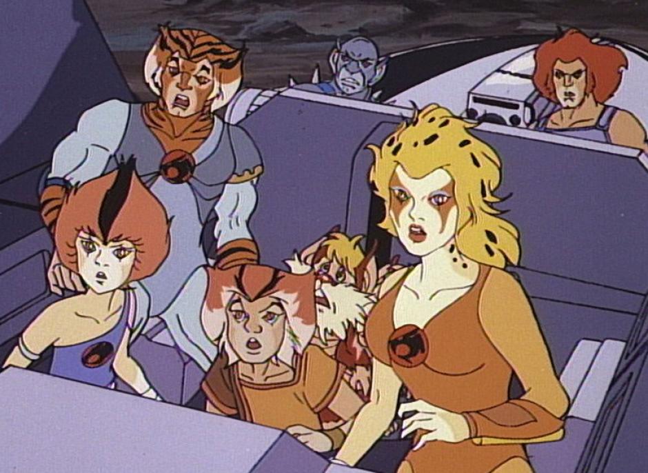 En 1985 se comienza a transmitir en EE. UU. la serie ThunderCats, que estaría al aire hasta 1989. (Foto: Twitter)