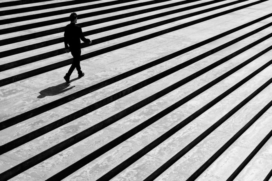Lo dramático del trabajo en blanco y negro se ve reflejado en esta imagen. (Foto: Moisés Rodríguez/500px)