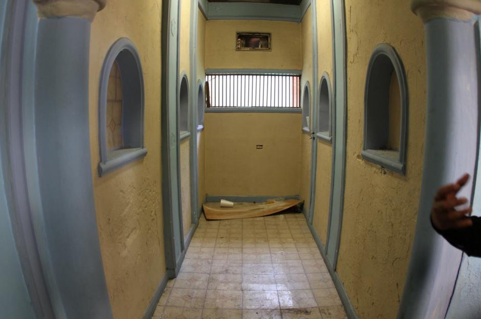 Algunos pasillos de las cárceles fueron remodelados a gusto de los reos. (Foto: Comunicación Social del Estado de Nuevo León)