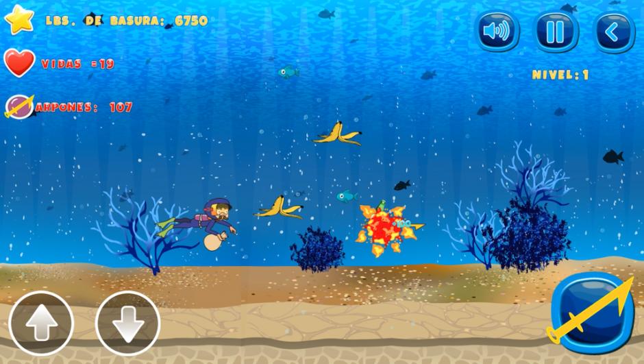Uno de los juegos trata sobre limpiar el lago de Amatitlán