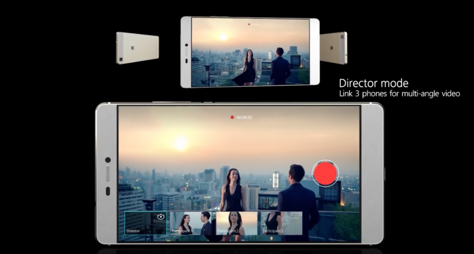 El P9 también permite grabar videos en múltiples ángulos. (Imagen: Captura de YouTube)