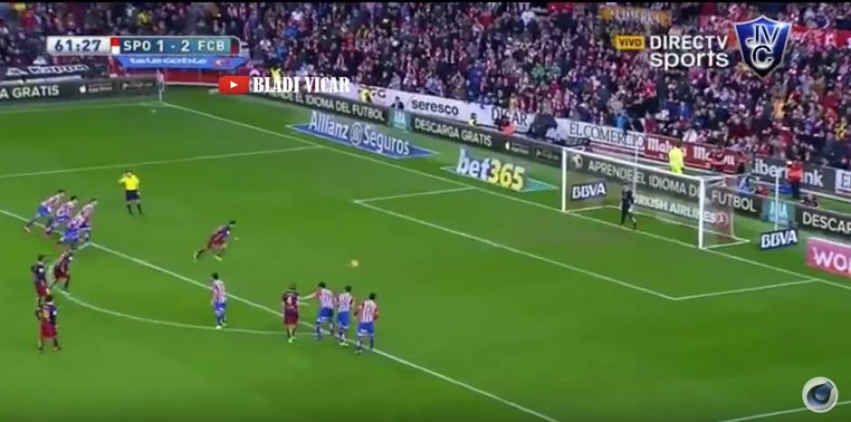 Sporting Gijón foto penal indirecto