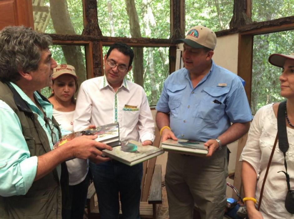 La preservación de la naturaleza en la biósfera Maya es uno de los temas de interés. (Foto: Presidencia Guatemala)