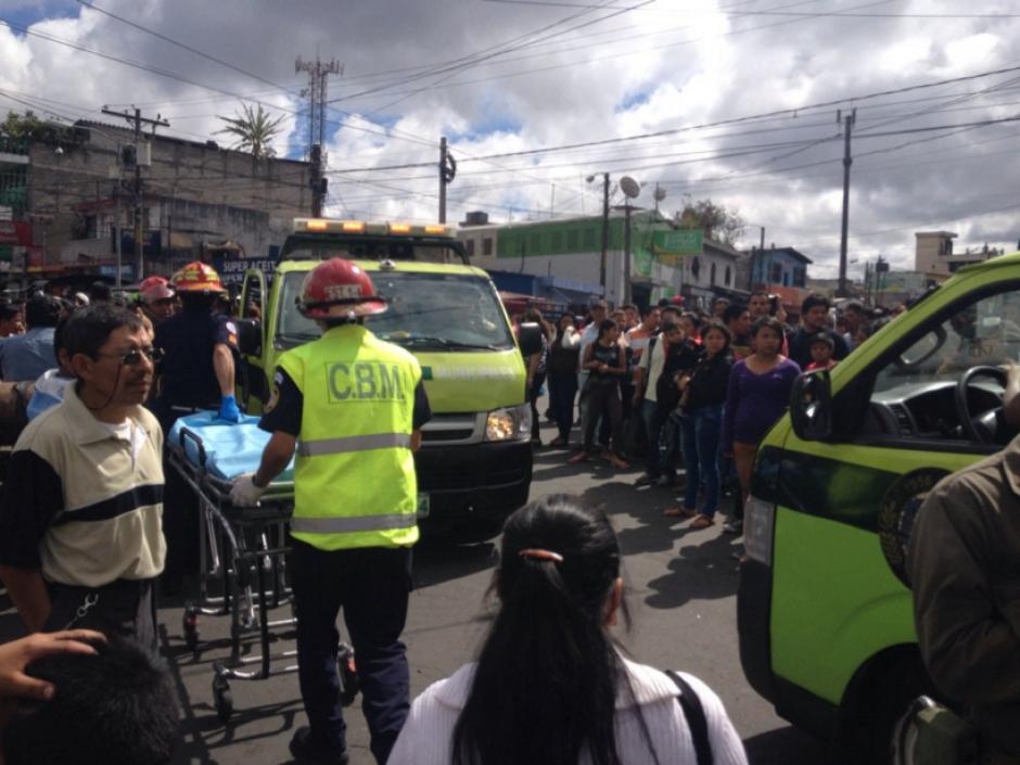 Al menos 7 heridos reportan los Bomberos Municipales en El Milagro. (Foto: Bomberos Municipales)