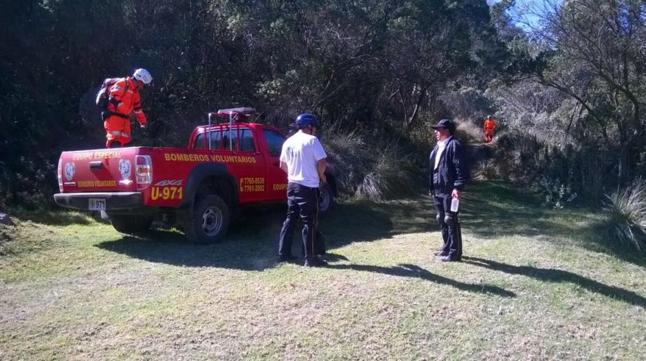 Momentos de tensión vivieron familiares al reportar como desaparecidos a los turistas locales. (Foto: Bomberos Voluntarios)