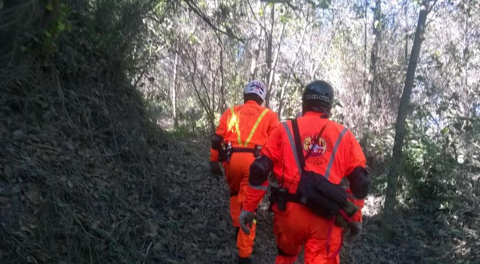 Los Bomberos informaron que los localizaron sanos y salvos. (Foto: Bomberos Voluntarios)