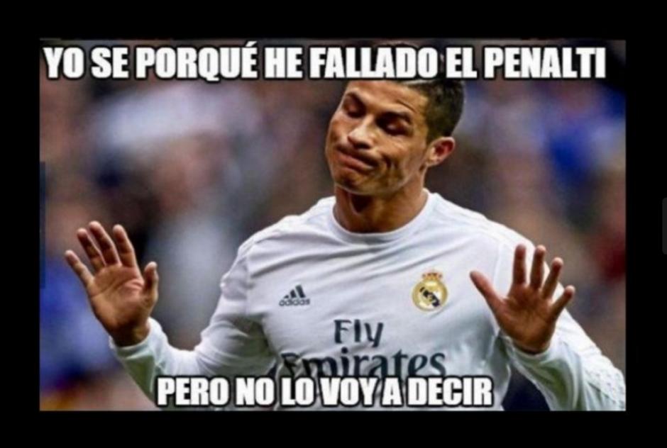 Cristiano Ronaldo falló un penal ante el Málaga. (Foto: Memedeportes.com)