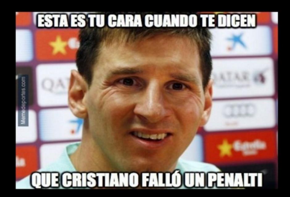 La imagen de Messi también sirvió para reclamar al Madrid. (Foto: Memedeportes.com)