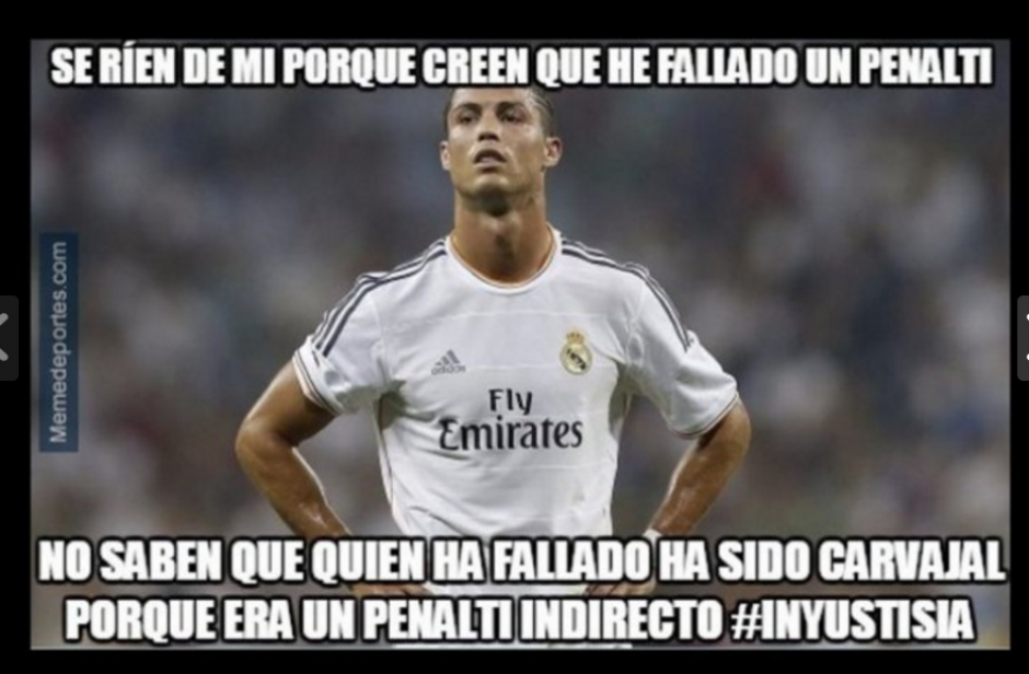 Ronaldo anotó un gol en fuera de lugar y falló un penal. (Foto: Memedeportes.com)