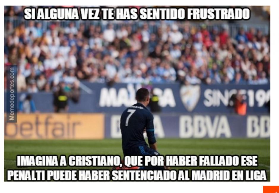 El tiro representó una pérdida para el Madrid que se pone a 9 puntos del Barcelona. (Foto: Memedeportes.com)