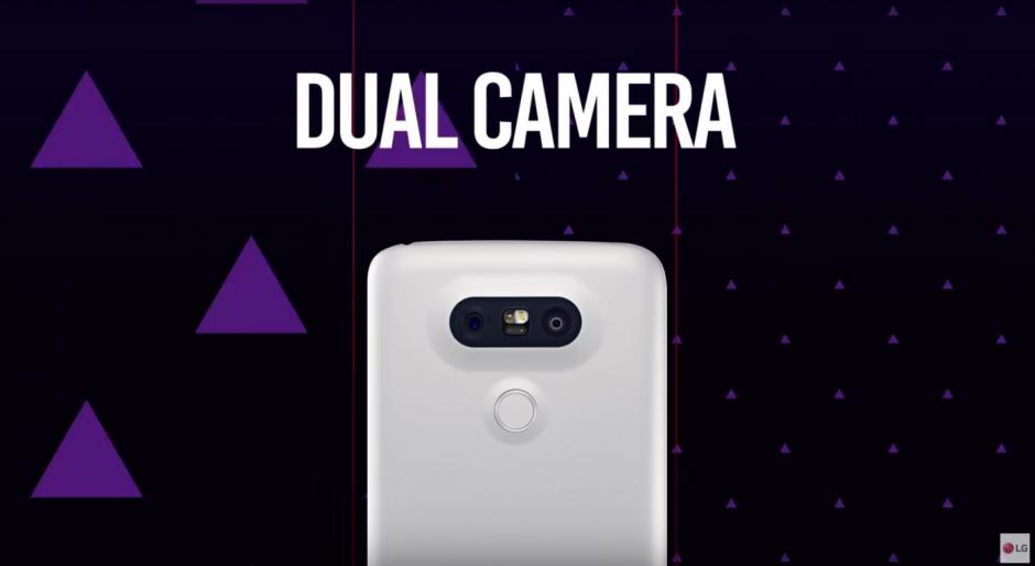 El G5 cuenta también con doble cámara trasera. (Imagen: Captura de YouTube)