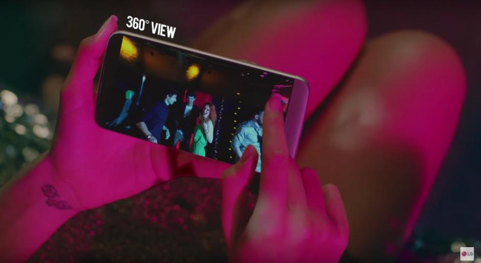 También es compatible con cámaras a 360 grados. (Imagen: Captura de YouTube)