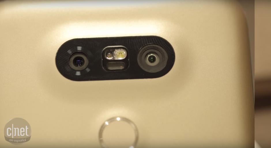 Asimismo, el G5 cuenta con doble cámara trasera. (Imagen: Captura de YoTube)