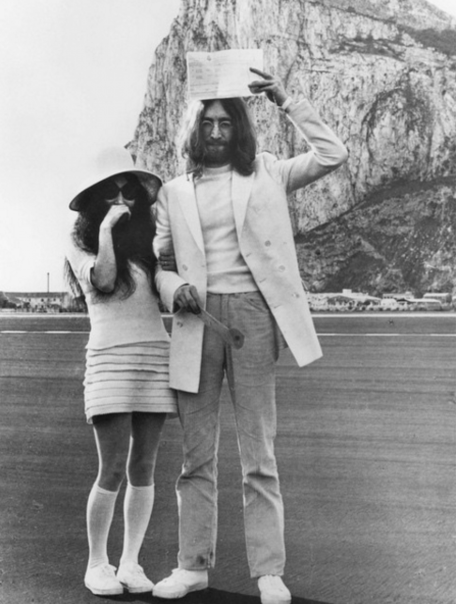 John Lennon y Yoko Ono se casaron en 1969. (Foto: Instagram Yoko Ono)