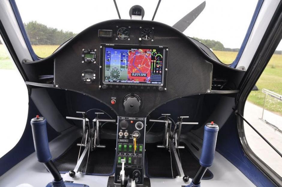 Este sería el interior de la nave con un peso entre los 400 y 500 kilogramos. (Foto: airliners.net)