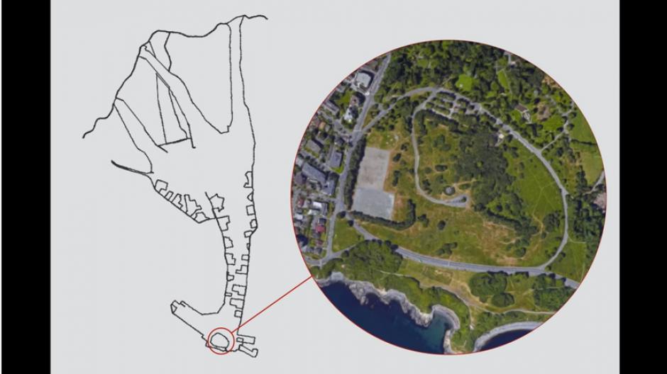Un ciclista usa el trazo que deja su GPS para realizar dibujos. (Foto: Youtube.com)