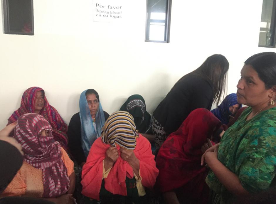 Las mujeres de Sepur Zarco agradecieron después de escuchar el veredicto de reparación digna. (Foto: Jesús Alfonso/Soy502)