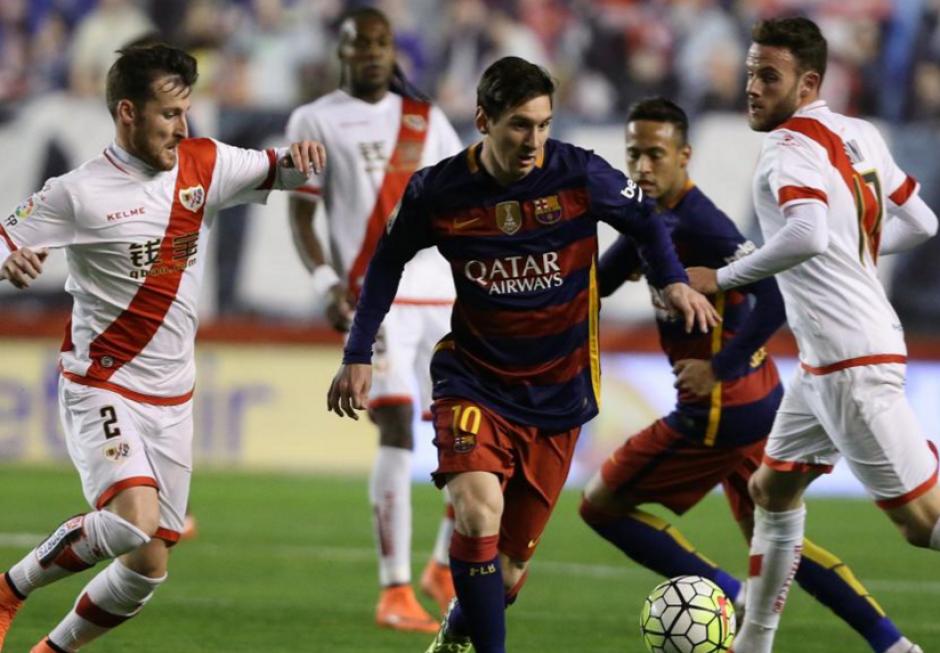 El Rayo Vallecano perdió 5-1 en su estadio. (Foto: Mundo Deportivo)