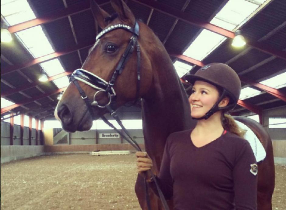 Alexandra Andresen comparte fotografías junto a sus caballos. (Foto: Alexandra Andresen / Instagram)