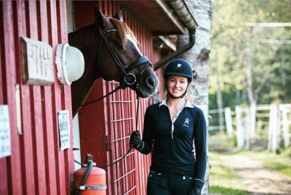 Alexandra Andresen se dedica a competir profesionalmente en adiestramiento de caballos. (Foto: Alexandra Andresen / Instagram)