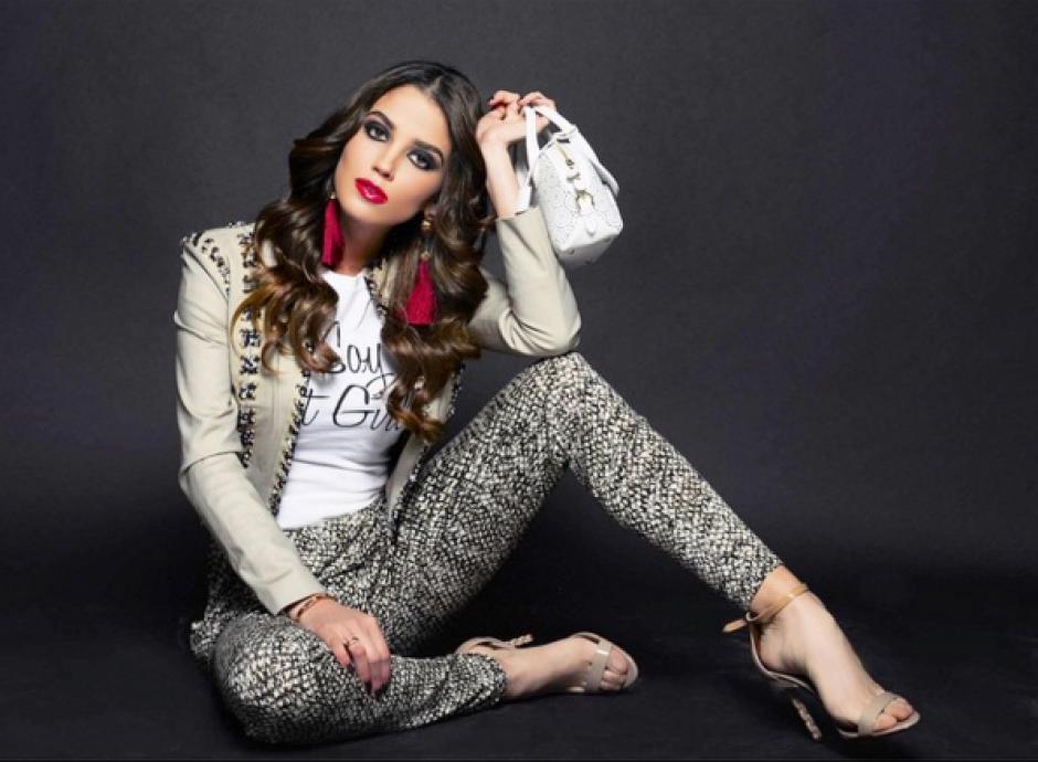 Lorena es licenciada en Ciencias de la Comunicación y modelo. (Foto: Lorena González)