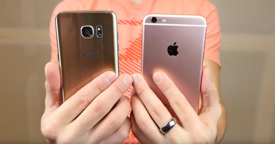 Ambos sufren golpes. (Imagen: YouTube/EverythingApplePro)